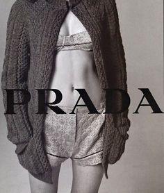 Prada Spring/Summer 2002 campaign.