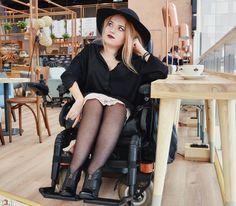 #wheelchairfashion #fashion #rockfashion http://www.Vamppiv.pl