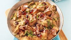 Lyxig kycklingpanna med bacon
