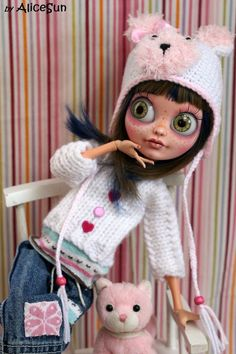 "OOAK Custom Ever After Monster High 17"" art doll bjd repaint Ambee by AliceSun"