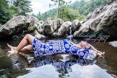 Ansleigh Jones Photography Copperhill, TN Senior River Water Rocks Model Session