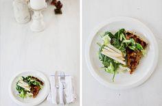 Pistachio Crusted Tofu Salad — Punchfork