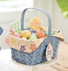 2014 Easter Basket - available in three traditional and six spring colors!  Shop online: www.longaberger.com/kellysnyder2