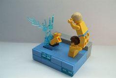 "Vignette / Mike Bernd ""chicken fight"""