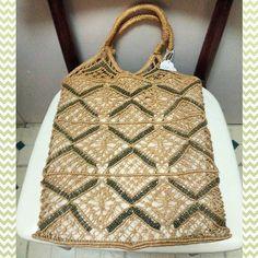#70s #woven #jute #tote #bag #purse #festival #festivalbag #everyday #vintagepurse #totebag #casual #summervibes #hippie #boho #70sstyle #niagarafleamarket #stcatharines