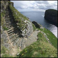 Whaligoe steps, Caithness, Scotland