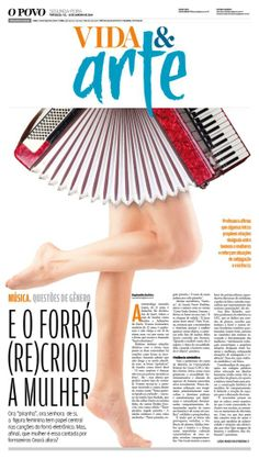 O POVO Newspaper. Culture cover