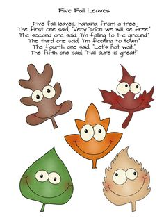 This printable fall leaf poem and LOTS of other activities...