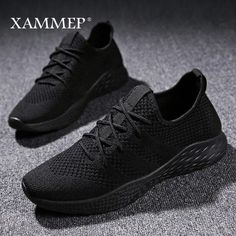 618e604e5c1af Men Casual Shoes Brand Men Shoes Men Sneakers Flats Mesh Slip On Loafers  Fly Knit Breathable Plus Big Size Spring Autumn Sawol
