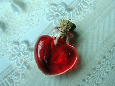 Cute Love Potion Bottle Charm by CraftyOliviaCuties on Etsy. i just think little things like this are soooo cute!