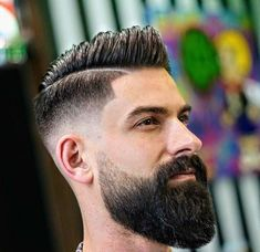 27 Comb Over Hairstyles For Men 2020 Mens Hairstyles Haircuts & Colors Ideas Long Beard Styles, Beard Styles For Men, Hair And Beard Styles, Long Hair Styles, Combover Hairstyles, Mens Hairstyles With Beard, Popular Mens Haircuts, Haircuts For Men, Beard Shampoo And Conditioner