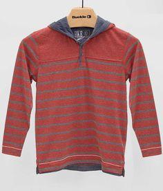 Boys - BKE Vintage Rockwell Henley Hoodie - Boy's Shirts/Tops | Buckle