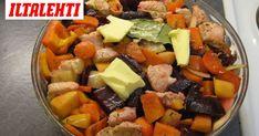 Syyskuussa kannattaa hyödyntää edullisia juureksia. Juuresten aromit ja makeus tulevat parhaiten esiin pitkään hautuneessa pataruoassa. Fruit Salad, Cantaloupe, Food, Fruit Salads, Essen, Meals, Yemek, Eten
