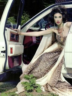 Jacquelyn Jablonski by Miles Aldridge for Vogue Italia (May 2011)