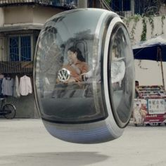 Volkswagen crowd-sources its way to a Hover Car. Wouldn't it be great for the city?