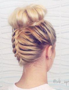 20 Cute Upside-Down French Braid Ideas