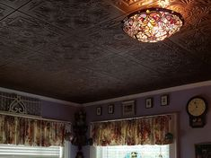 Decorative Ceiling Tiles provides a wide selection of ceiling tiles that give your residential or commercial space character. Styrofoam Ceiling Tiles, Ceiling Medallions, Craft Stores, Something To Do, Bronze, Victorian, Hand Painted, Dining, Antiques