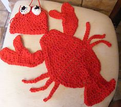 crochet newborn photo props | newborn-crochet-lobster-hat-cape-photo-prop-photography-boy-girl-0-3-m ...