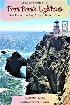 Point Bonita Lighthouse: San Francisco Bay Areas Best-Kept Secret babies flight hotel restaurant destinations ideas tips Usa Travel, Canada Travel, Paris Travel, Solo Travel, Travel Guides, Travel Tips, Travel Info, Travel Hacks, Travel Packing