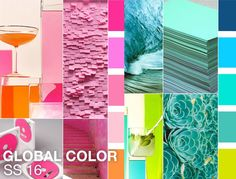 Colour trends 2016 - pick o e or use a selection as an accent.