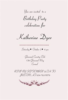Gliding over the hill printable invitation template customize add free printable birthday invitation templates for her stopboris Choice Image