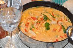 Kyckling i röd curry | Matstugan