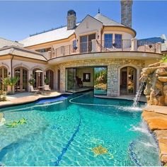 """Luxury Homes Interior Dream Houses Exterior Most Expensive Mansions Plans Modern 👉 Get Your FREE Guide """"The Best Ways To Make Money Online"""" Dream Home Design, My Dream Home, House Design, Dream House Exterior, Dream House Plans, Dream Mansion, Mansion Houses, Luxury Pools, Luxury Homes Dream Houses"""