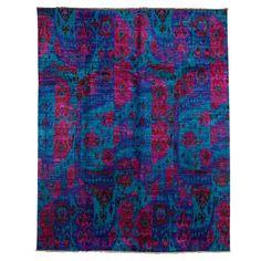Silk Sankari Rug -- beautiful colors