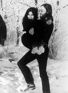 "(♥) John on Yoko: ""She inspired all this creation in me. It wasn't that she inspired the songs; she inspired me."" —​ Playboy, 1981  ""It is a teacher-pupil relationship. That's what people don't understand. She's the teacher and I'm the pupil. I'm the famous one, the one who's supposed to know everything, but she's my teacher."" —​ Playboy, 1981"
