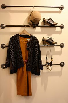 Great idea to hang your outfits up! Got to make sure you look cute