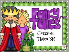 This 159 page editable fairy tale classroom theme kit includes everything you need to decorate and organize your classroom! Includes: Desk Name P. Castle Theme Classroom, Music Classroom, Preschool Classroom, Classroom Themes, In Kindergarten, Fairy Tale Crafts, Fairy Tale Theme, Student Binder Covers, Fairy Tales Unit