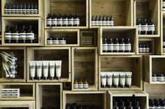 1. IDEAS A. Learn from store displays Aesop Fillmore Street by NADAAA