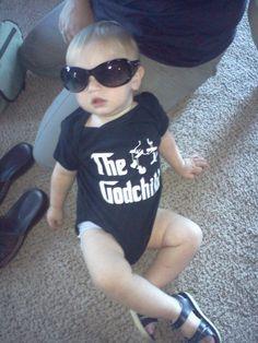 The Godchild aka Sam :-) Godmother Ideas, Godchild, Baby Crafts, Auntie, Logan, Laughing, Shower Ideas, Catholic, Baby Shower