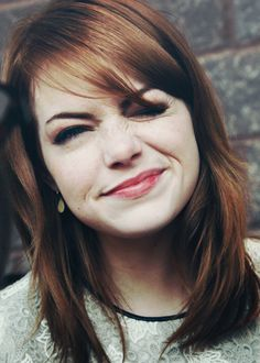 Emma Stone:) love her she's so real & funny & nice