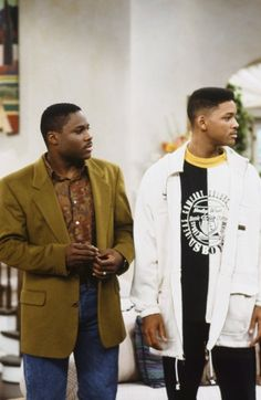 Still of Will Smith and Malcolm-Jamal Warner in The Fresh Prince of Bel-Air (1990)