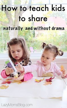 How to teach kids to share, naturally, without the drama, and making it fun. Simple parenting tricks that work! Step Parenting, Parenting Articles, Natural Parenting, Parenting Hacks, Practical Parenting, Parenting Toddlers, Parenting Styles, Parenting Humor, How To Teach Kids