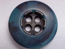 14 dunkelblaue KNÖPFE 18mm (2108) Knopf dunkelblau