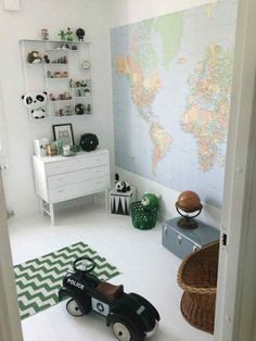 Eclectic Kids Bedroom Design Ideas: Ideas, Remodel, and Decor Casa Kids, Kid Spaces, Kids Decor, Boy Room, Girls Bedroom, Room Decor, Kids Rooms, Nursery Grey, Nursery Modern