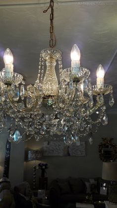 Antiques Atlas - 1960s 6-Arm Marie-Therese Chandelier