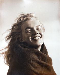 Marilyn Monroe at Gilgo Beach New York by Andre de Dienes