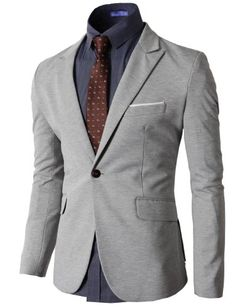 H2H Mens Single Breasted Blazer Jacket With One Button Peaked Lapel GRAY US M/Asia XL (KMOBL040) H2H http://www.amazon.com/dp/B00IMYLGWM/ref=cm_sw_r_pi_dp_A6fpub0QXY18R