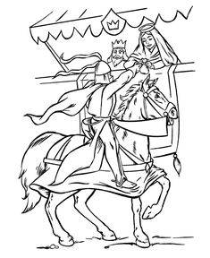 bluebonkers medieval knights in armor coloring sheets tournament prize free printable knights kings queens coloring pages - Medieval Coloring Pages Printable