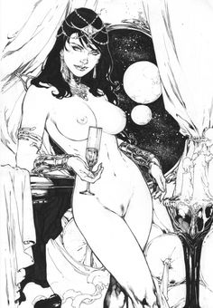 Dejah Thoris - Ed Benes, in MIKE SHARPE's Literary Inspired Commissions Comic Art Gallery Room - 1040580