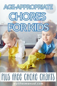 In this post, you'll learn age-appropriate chores for kids and how to get kids to do chores. You'll get to download free chore charts printables Chore List For Kids, Age Appropriate Chores For Kids, Good Work Ethic, Financial Budget, Chore Charts, 13 Year Olds, Life Skills, Getting Old, Second Grade