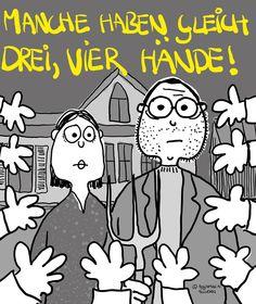 es tut gar nicht weh! ©augenpause.at/aichhorn Comics, Fictional Characters, Design, Art, Drawing Hands, Graphics, Art Background, Kunst