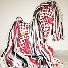 Red and White #3 by Deborah on Etsy