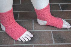 Knitting Pattern Yoga Dance Sock Women's Yoga Socks Yoga Sock Pattern Knit Yoga Socks Toeless Socks