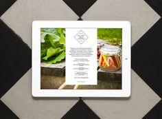 Mobile website for Helsinki Food Company designed by Werklig.