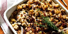 Holiday: Cornbread Oyster Dressing