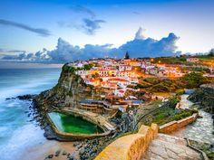 Azenhas do Mar, Portugal –